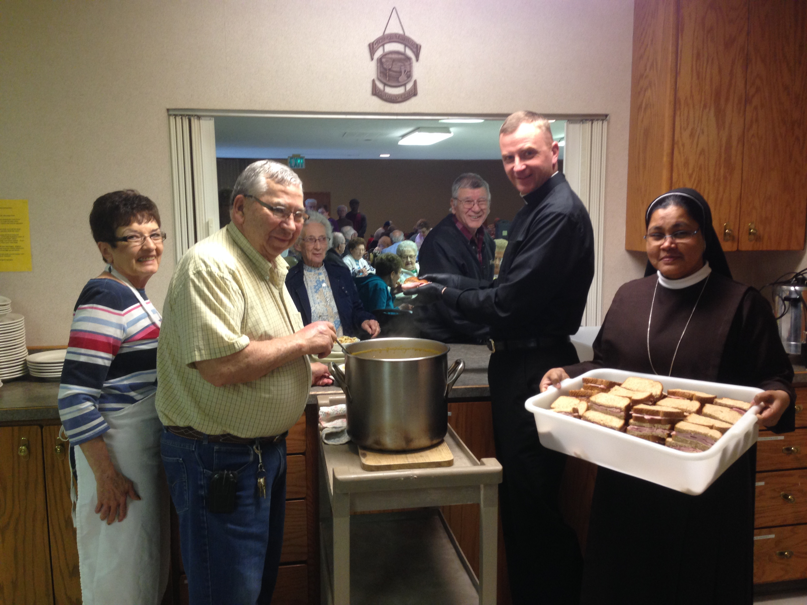 spirit of life roman catholic church soup kitchen fellowship